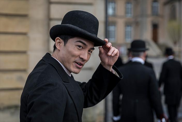 Nguyen Ai Quoc, gespielt von Alexandre Nguyen, in der TV-Serie Krieg der Träume